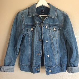 Vintage Gap Medium Wash Denim Jean Jacket